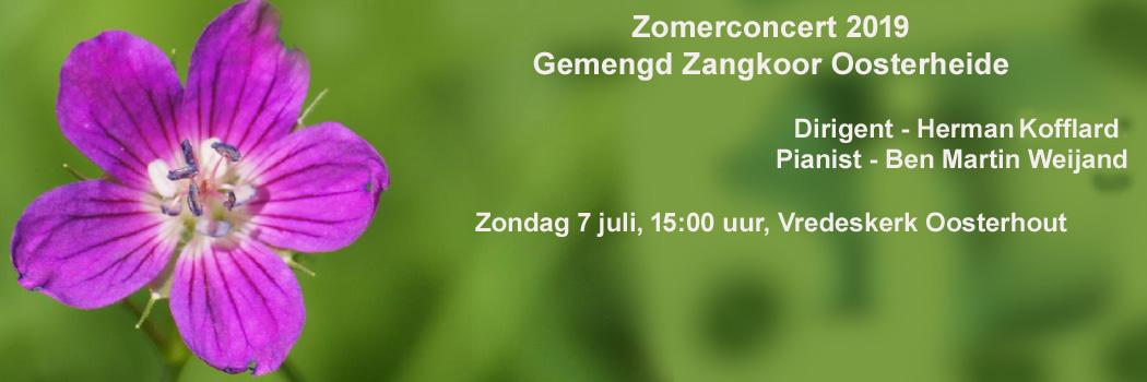 GZO bezingt de romantiek met liederen van Brahms, Schumann en Dvořák in de Vredeskerk te Oosterhout ...