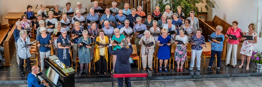 GZO bezong de romantiek met liederen van Brahms, Schumann en Dvořák in de Vredeskerk te Oosterhout ...