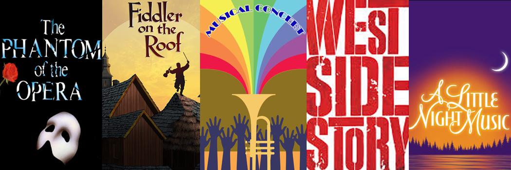 In 2015 zongen wij delen uit bekende musicals ...